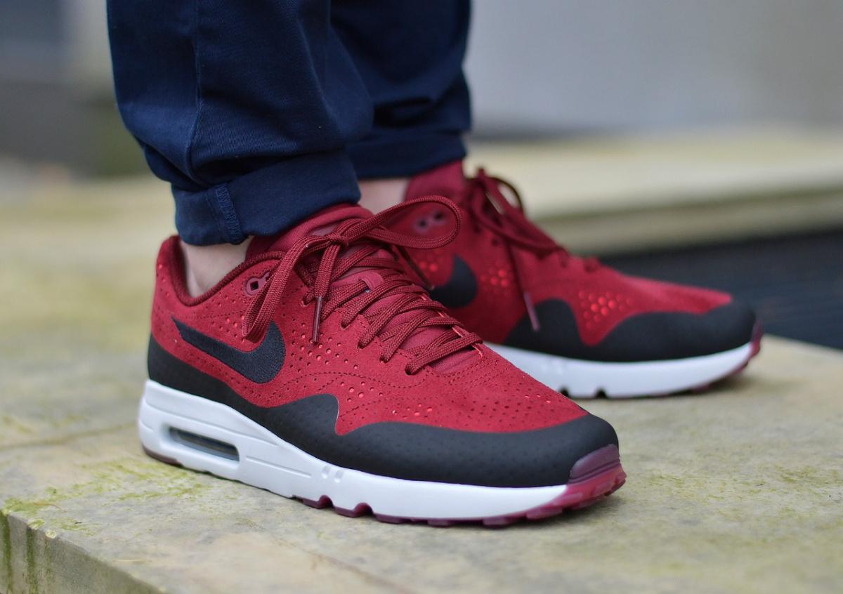 Details zu Nike Air Max 1 Ultra 2.0 Moire 918189 600 Herren Sportschuhe Sneaker
